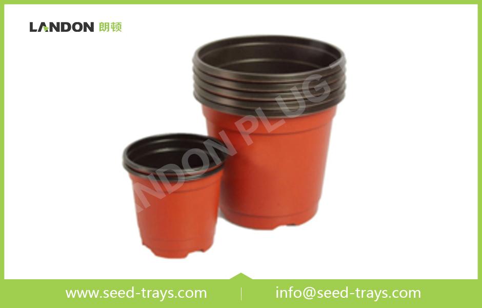 Color Plastic Flower Pots
